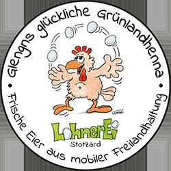 Lohnerei, Lohner, Marion, Hubert, Stotzard, Eier, Freilandhaltung, Hühner, Hennen